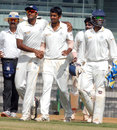 Malolan Rangarajan picked up six wickets, Tamil Nadu v Bengal, Ranji Trophy 2013-14, Group B, 1st day, Chennai, December 30, 2013