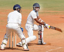 Laxmi Shukla plays a reverse sweep, Tamil Nadu v Bengal, Ranji Trophy, Group B, Chennai, 2nd day, December 31, 2013