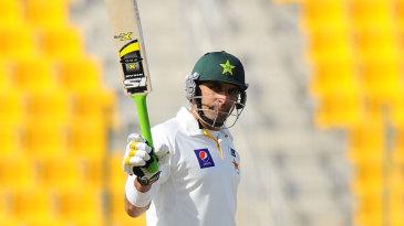 Misbah-ul-Haq celebrates his half-century