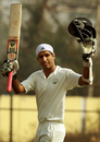 Rahul Dewan celebrates his double-century, Odisha v Haryana, Ranji Trophy 2013-14, Group A, 3rd day, Bhubaneswar, January 1, 2014