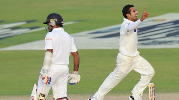 Bilawal Bhatti picked up two wickets in two balls