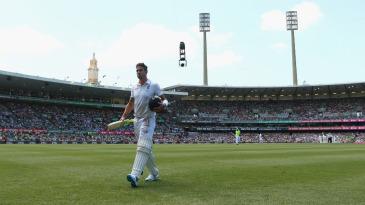 Kevin Pietersen joined the regular departure of England batsmen