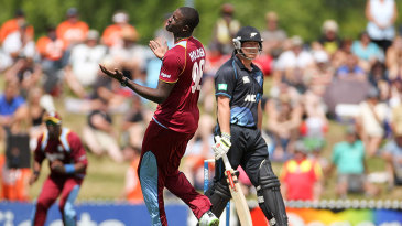 Three catches were dropped off Jason Holder's bowling
