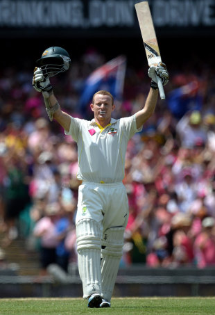 Chris Rogers scored his second hundred in consecutive Tests
