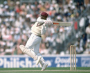 Gordon Greenidge executes a ferocious pull