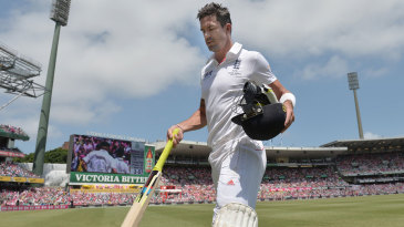 Kevin Pietersen leaves the SCG with his Test future in doubt