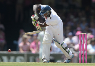 Broken: Michael Carberry was one of six players in the XI in Sydney not to have a central contract