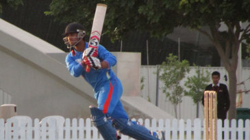 Ankush Bains plays one to the leg side