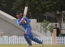 Ankush Bains plays one to the leg side, India Under-19 v Sri Lanka Under-19, Under-19 Asia Cup, semi-final, Dubai, January 2, 2014