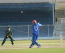 Hashmatullah Shaidi made 51 for Afghanistan , Afghanistan Under-19 v Pakistan Under-19, Under-19 Asia Cup, semi-final, Sharjah, January 2, 2014