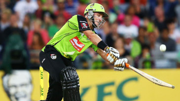 Michael Hussey goes on the attack