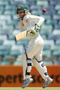 Jodie Fields battled for 43, Australia v England, Only women's Test, Perth, 2nd day, January 11, 2013