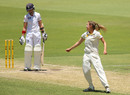 Ellyse Perry halted England's recovery by removing Arran Brindle, Australia v England, Only Test, Perth, 3rd day, January 12, 2014