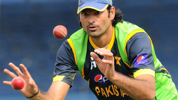 Mohammad Irfan working twice as hard at training?