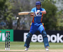Christi Viljoen looks to play to the off side, Namibia v Netherlands, World Cup 2015 qualifiers, Mount Maunganui, January 15, 2014