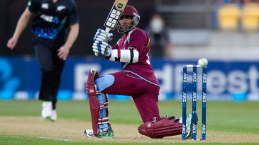 Denesh Ramdin scored an unbeaten 55