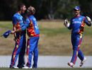 JJ Smit was the pick of the bowlers with three wickets, Kenya v Namibia, World Cup 2015 qualifiers, Mount Maunganui, January 17, 2014