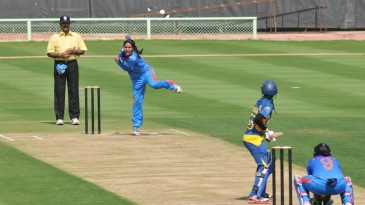 Gouher Sultana took four wickets for only four runs