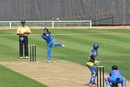 Gouher Sultana took four wickets for only four runs, India v Sri Lanka, 1st women's ODI, Visakhapatnam, January 19, 2014