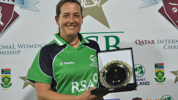 Isobel Joyce won Player of the Match for her all-round display