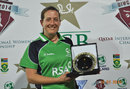 Isobel Joyce won Player of the Match for her all-round display, Pakistan v South Africa, PCB Qatar Women's 20-over Tri-Series, Doha, January 19, 2014