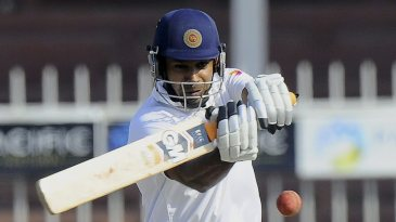 Prasanna Jayawardene lines up to pull