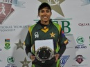 Nain Abidi was named the Player for the Match for the second day in a row, Pakistan v Ireland, PCB Qatar Women's 20-over Tri-Series, Doha, January 20, 2014