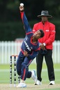 Jitendra Mukhiya bowled five overs and conceded 47 runs, Canada v Nepal, ICC World Cup Qualifier, Group A, Christchurch, January 21, 2014