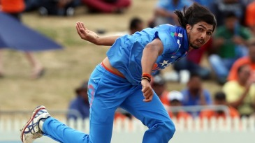Ishant Sharma went for 1 for 46 in six overs