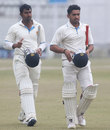Amit Verma and Karun Nair put on 206 for the sixth wicket, Punjab v Karnataka, Ranji Trophy semi-final, 4th day, Mohali, January 21, 2014