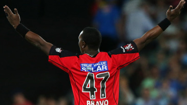 Dwayne Bravo starred with an all-round performance