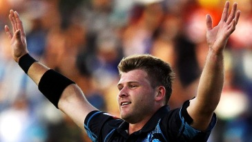 Corey Anderson took three wickets in his first spell