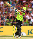 Daniel Hughes top-scored with 32, Sydney Thunder v Sydney Sixers, Big Bash League, Sydney, January 25, 2013