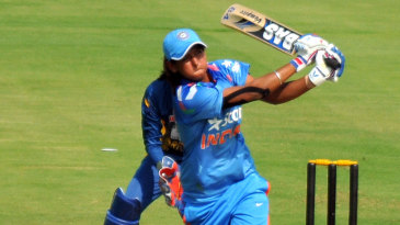 Harmanpreet Kaur made an unbeaten 29-ball 40