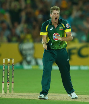 James Faulkner's late wickets helped turn the match on its head