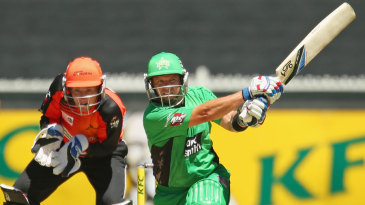 Brad Hodge goes on the attack