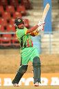 Ramnaresh Sarwan punched a quickfire 89, Guyana v Ireland, Nagico Super50, Port-of-Spain, January 31, 2014