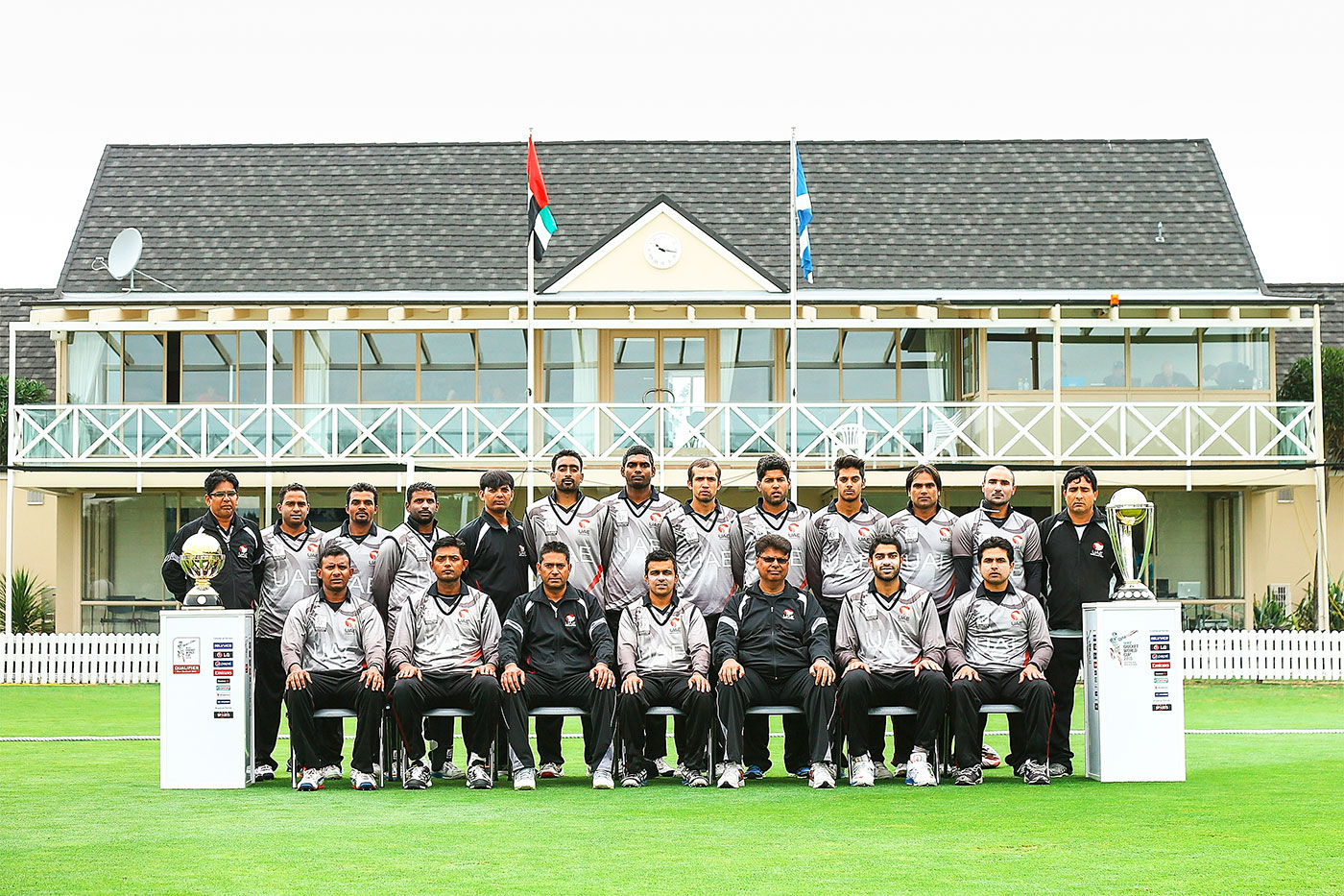Kiwi summer: UAE finished runners-up to Scotland in the World Cup Qualifier in New Zealand in 2014