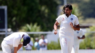 Ishant Sharma dismissed Robert O'Donnell