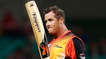 Craig Simmons scored his second T20 century