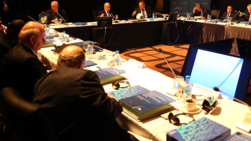 The FIFA Executive Committee meeting in Mauritius