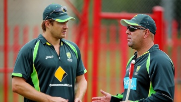 Darren Lehmann speaks to Shane Watson