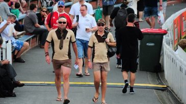 The Beige Brigade at the Wellington Test
