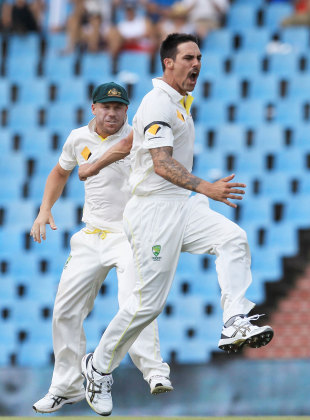 Mitchell Johnson's outstanding form continued