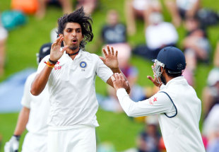 Ishant Sharma turned around another morning for India