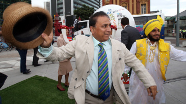 Sunil Gavaskar breaks into a dance at an event