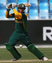 Yaseen Valli attacks the off side, South Africa Under-19s v West Indies Under-19s, ICC Under-19 World Cup, Dubai, February 14, 2014