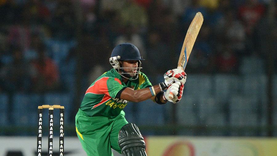 Sabbir Rahman flicks one away