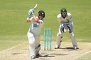 Marcus North drives through the off side, Western Australia v Tasmania, Sheffield Shield, Perth, 4th day, February 15, 2014