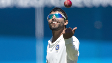 Ravindra Jadeja caught Corey Anderson off his own bowling